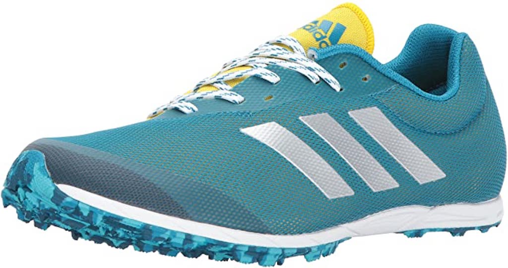 Adidas XCS Spikeless shoes.